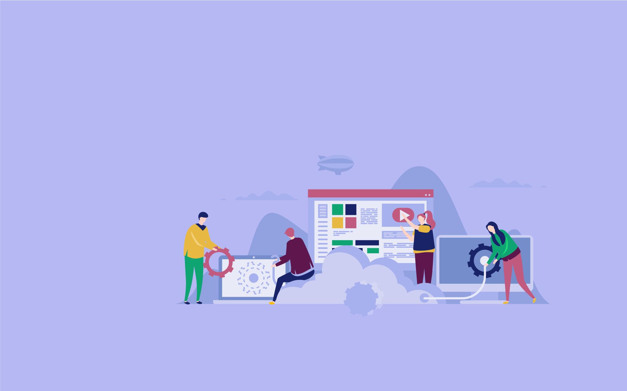 Creative digital agency. Une équipe à votre service.
